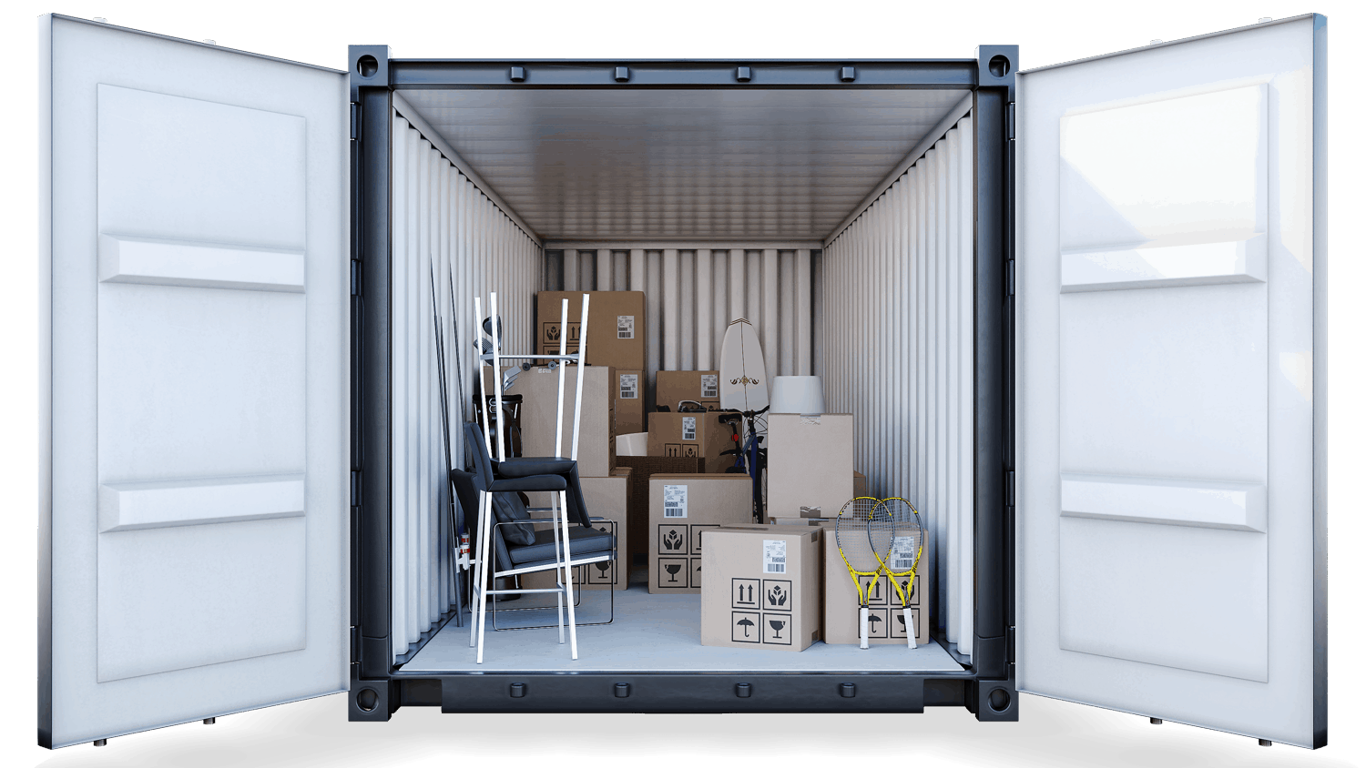 160sqft storage container at southwick