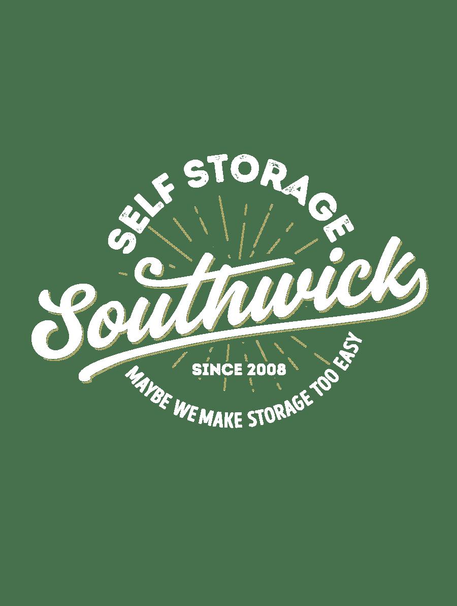 Southwick Stroage logo White Gold