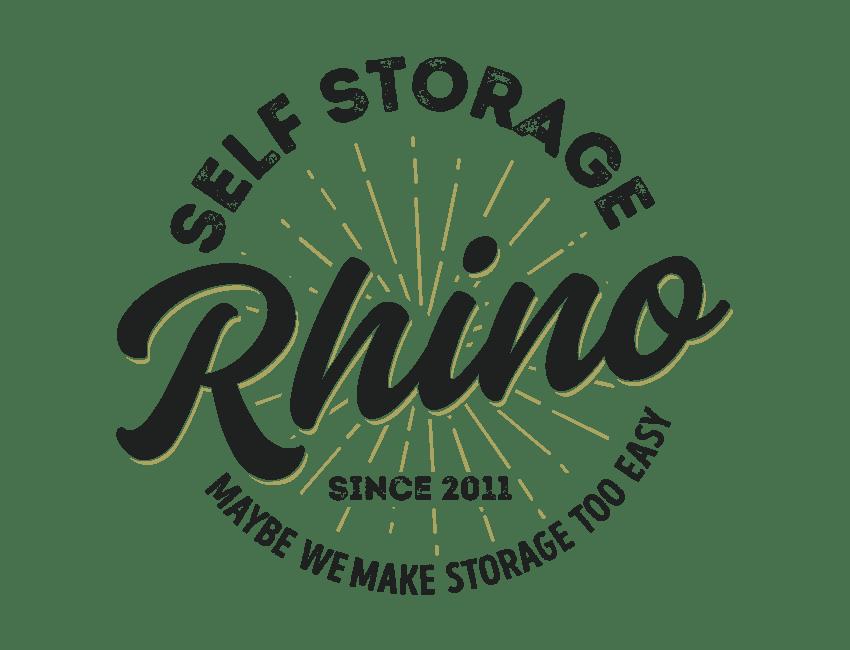 Rhino Storage Salisbury logo, on Southwick Storage Sister Company
