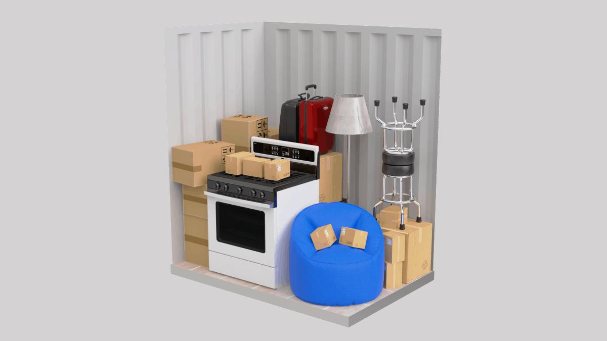 Storage Unit at Southwick Stroage
